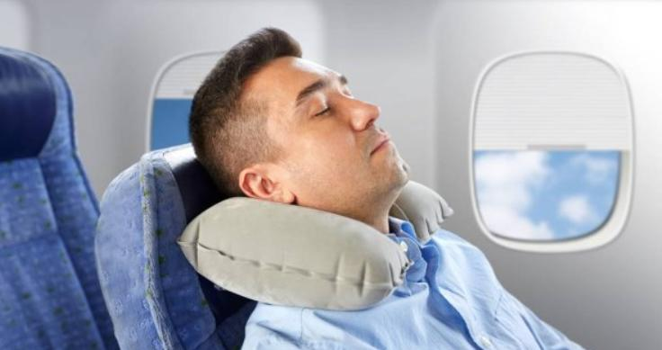 different filling materials of pillow for long haul flights