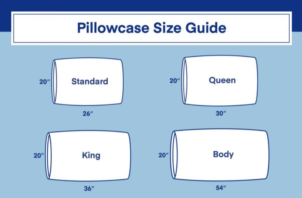 size of pillow