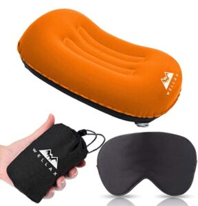 compressible inflatable backpacking pillow