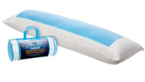 straight cooling body pillow