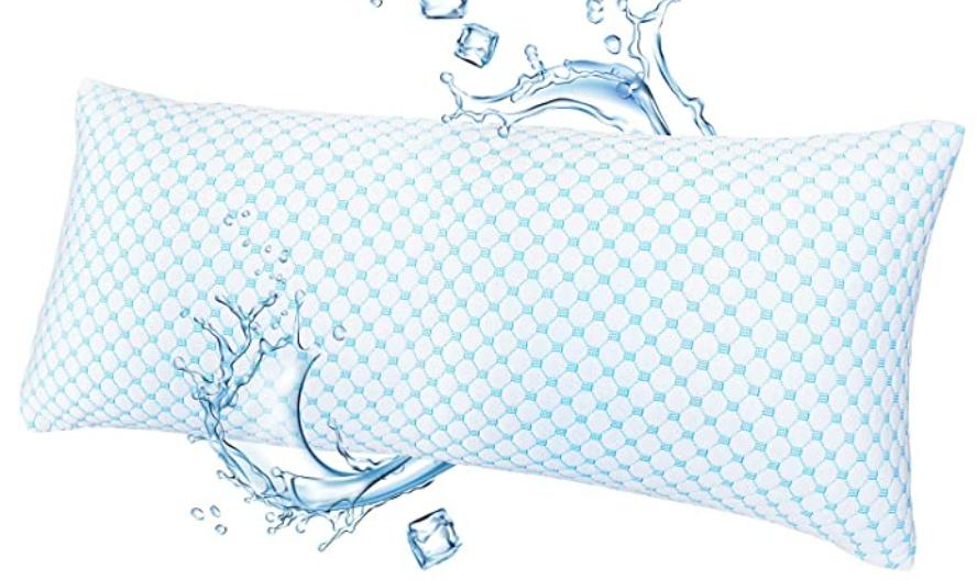 gel infused cooling pillow