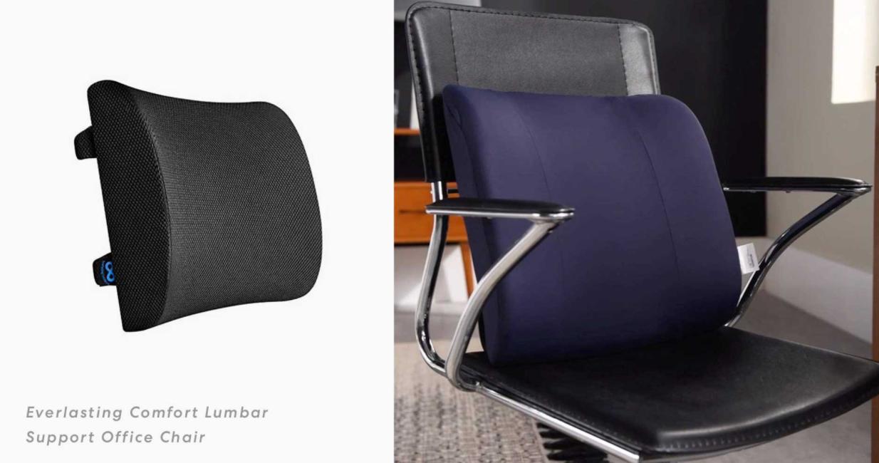 lumbar support chair cushion