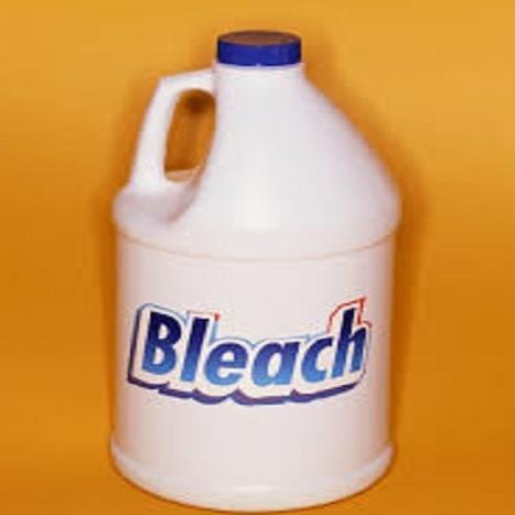 clean the bath pillow with bleach